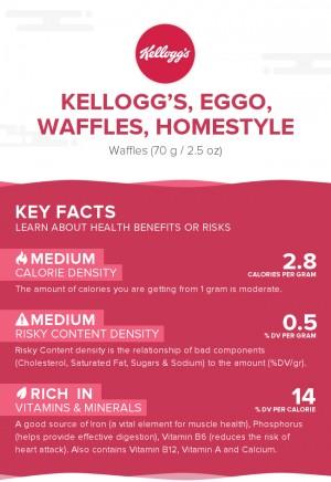 KELLOGG'S, EGGO, Waffles, Homestyle