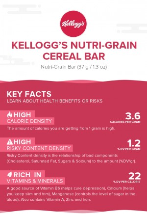 Kellogg's Nutri-Grain Cereal Bar