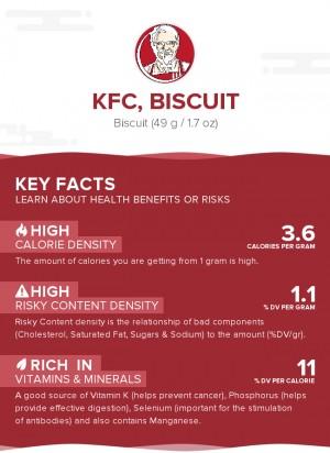 KFC, biscuit