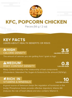 KFC, Popcorn Chicken