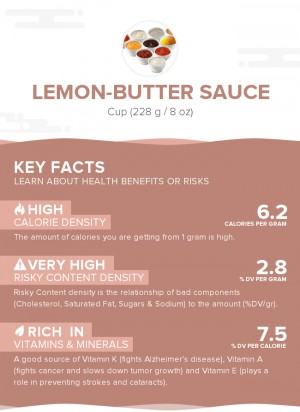 Lemon-butter sauce