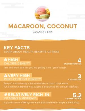 Macaroon, Coconut
