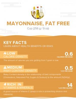 Mayonnaise, fat free