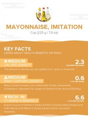 Mayonnaise, imitation