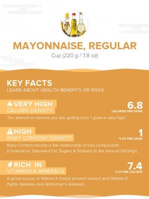 Mayonnaise, regular