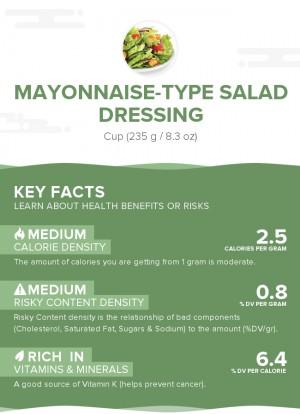 Mayonnaise-type salad dressing