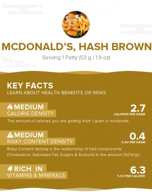 McDONALD'S, Hash Brown