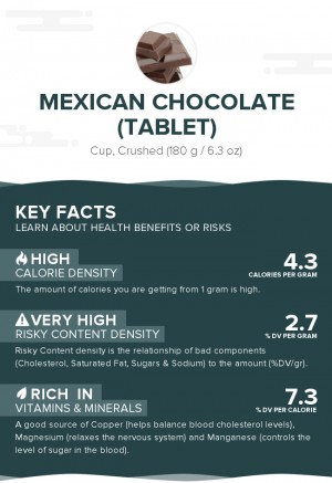 Mexican chocolate (tablet)