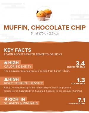 Muffin, chocolate chip