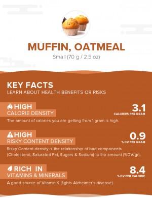 Muffin, oatmeal