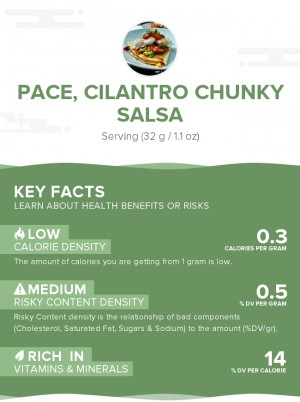 PACE, Cilantro Chunky Salsa