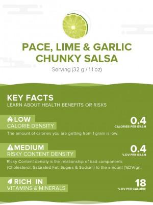 PACE, Lime & Garlic Chunky Salsa