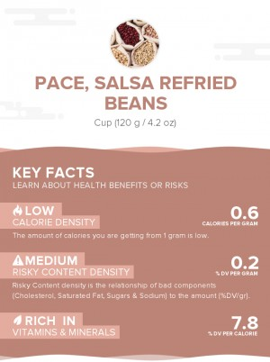 PACE, Salsa Refried Beans