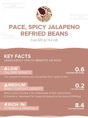 PACE, Spicy Jalapeno Refried Beans