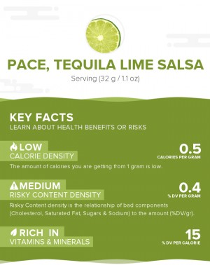 PACE, Tequila Lime Salsa