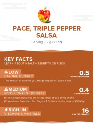 PACE, Triple Pepper Salsa