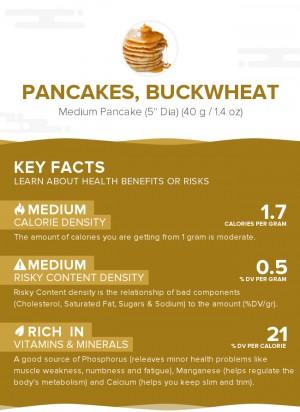 Pancakes, buckwheat