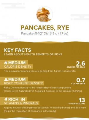 Pancakes, rye