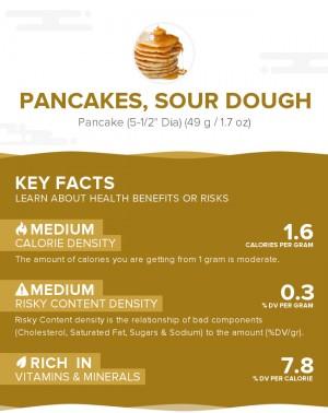 Pancakes, sour dough