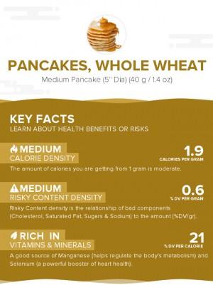 Pancakes, whole wheat