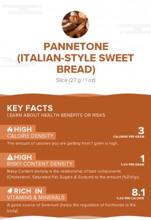 Pannetone (Italian-style sweet bread)