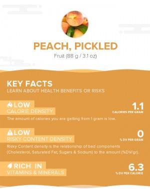 Peach, pickled