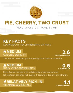 Pie, cherry, two crust
