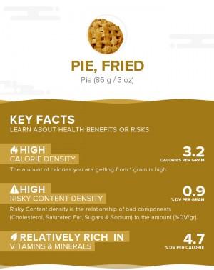Pie, fried