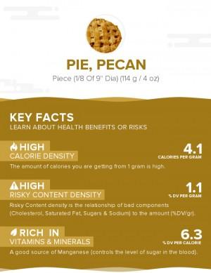 Pie, pecan