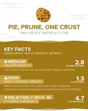Pie, prune, one crust