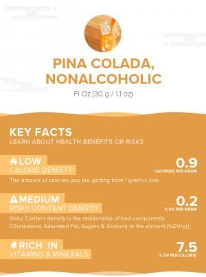 Pina Colada, nonalcoholic