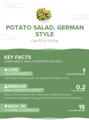 Potato salad, German style