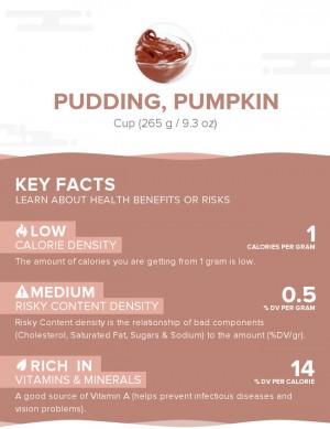 Pudding, pumpkin
