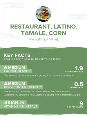 Restaurant, Latino, tamale, corn