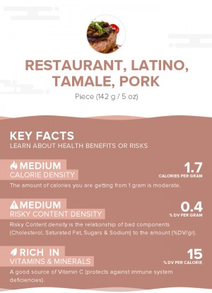 Restaurant, Latino, tamale, pork