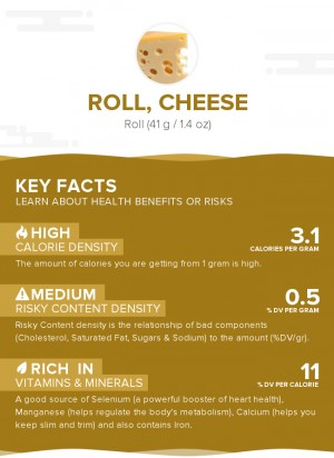 Roll, cheese