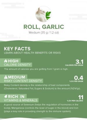 Roll, garlic