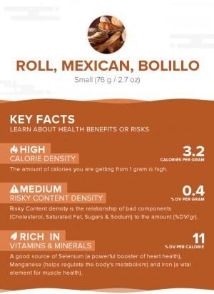 Roll, Mexican, bolillo