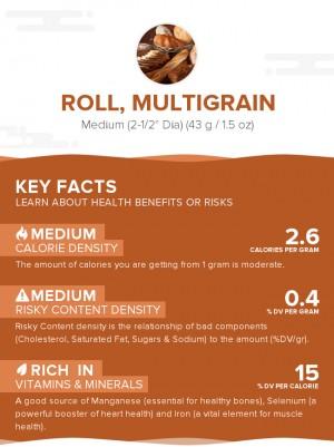 Roll, multigrain