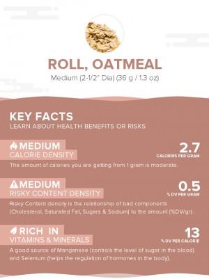Roll, oatmeal