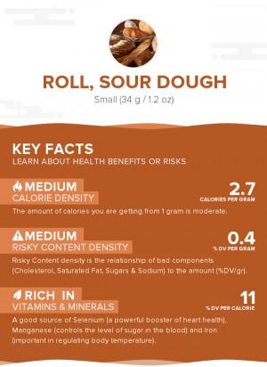 Roll, sour dough