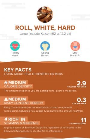 Roll, white, hard