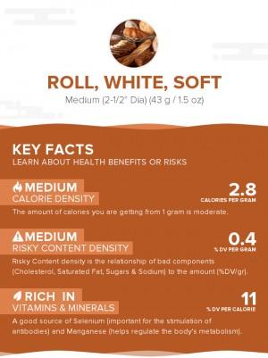Roll, white, soft