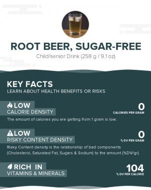 Root beer, sugar-free