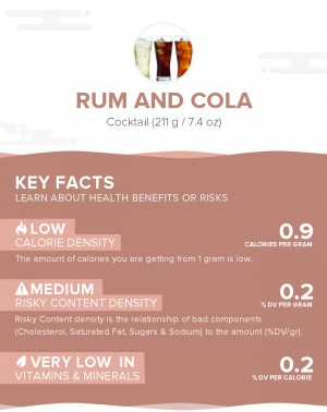 Rum and cola