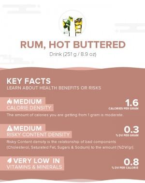 Rum, hot buttered