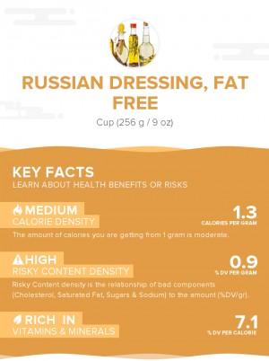 Russian dressing, fat free