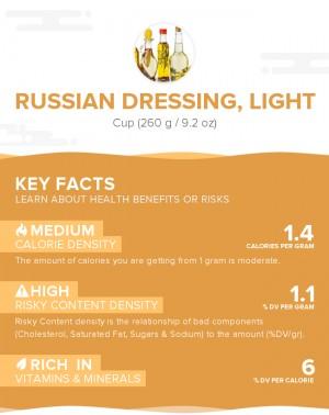 Russian dressing, light