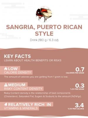 Sangria, Puerto Rican style