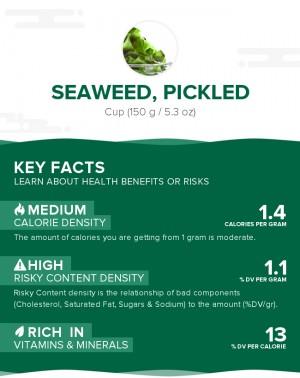 Seaweed, pickled